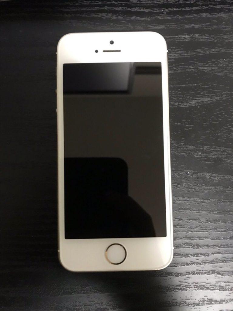 中古iPhone5s表