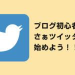 ツイッター2日目のブロガーが偉そうに言う!ブログ初心者ほどツイッターを始めなさい!