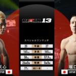 那須川天心 VS 堀口恭二、世紀の対決を観た格闘素人の感想